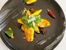 Μπαρμπουνια πικαντικα με πορτοκαλι