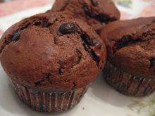 Πανεύκολα σοκολατένια muffins