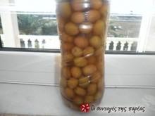 Ελιές πράσινες (μανάκι ή αγουρομάνακο)